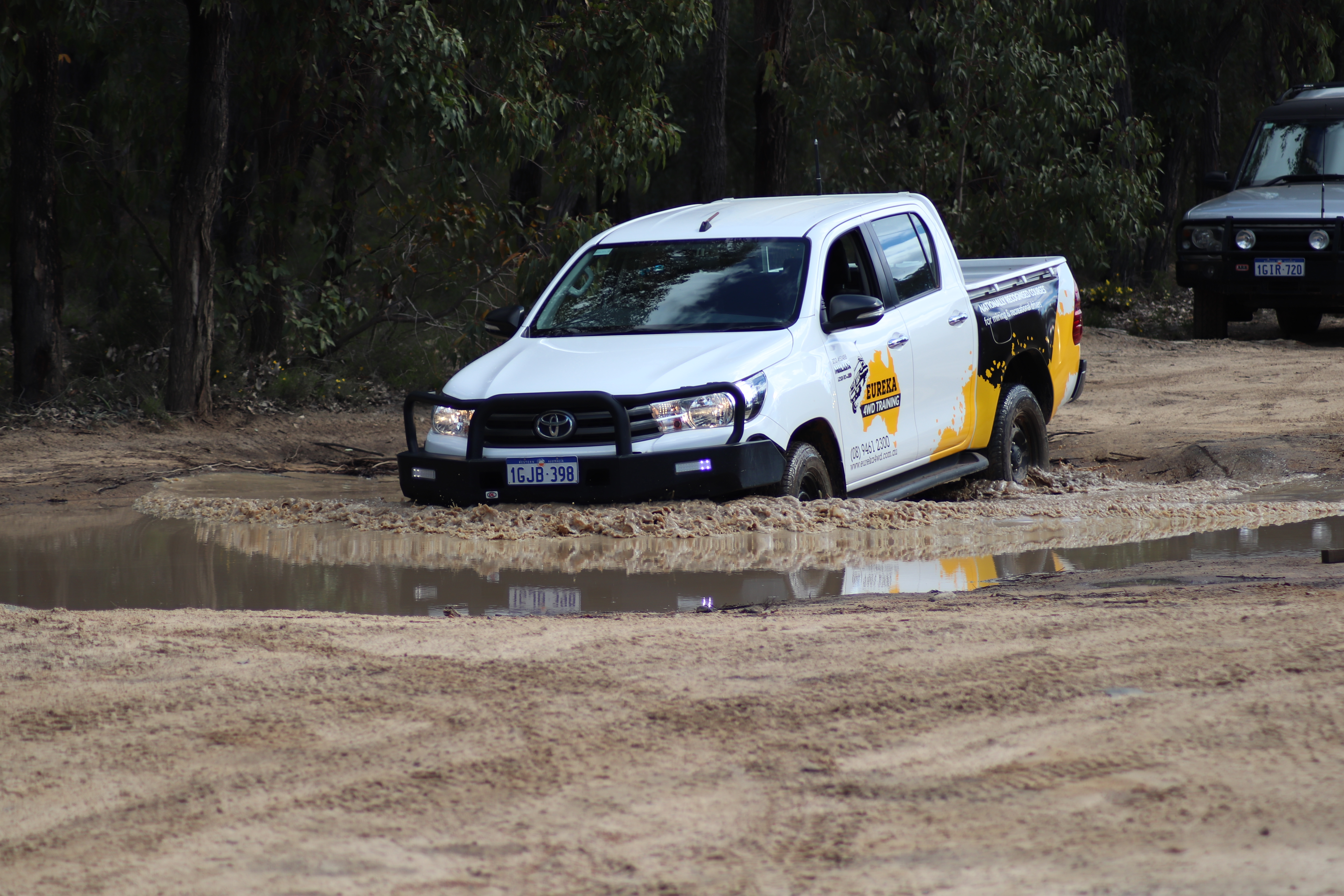 Have 4WD Fun In The Water, Without The Damage