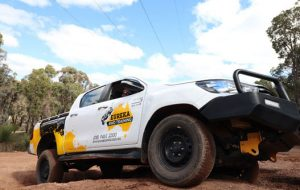 "A Eureka 4WD on an off-road as the feature image of ""vehicle hygiene""."