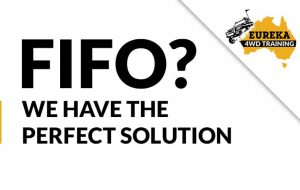 "Banner sign that says ""FIFO? We have the perfect solution""."