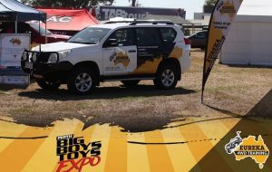 Eureka 4WD parked for the Perth Big Boys Toys Expo.