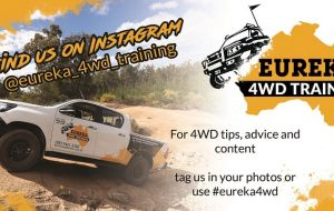 Detailed banner of Eureka 4WD Training Instagram page.