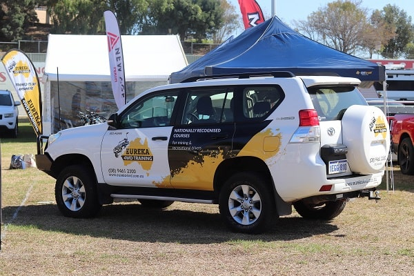 Official 4WD of Eureka 4WD Training attending Perth Big Boys Toys Expo.