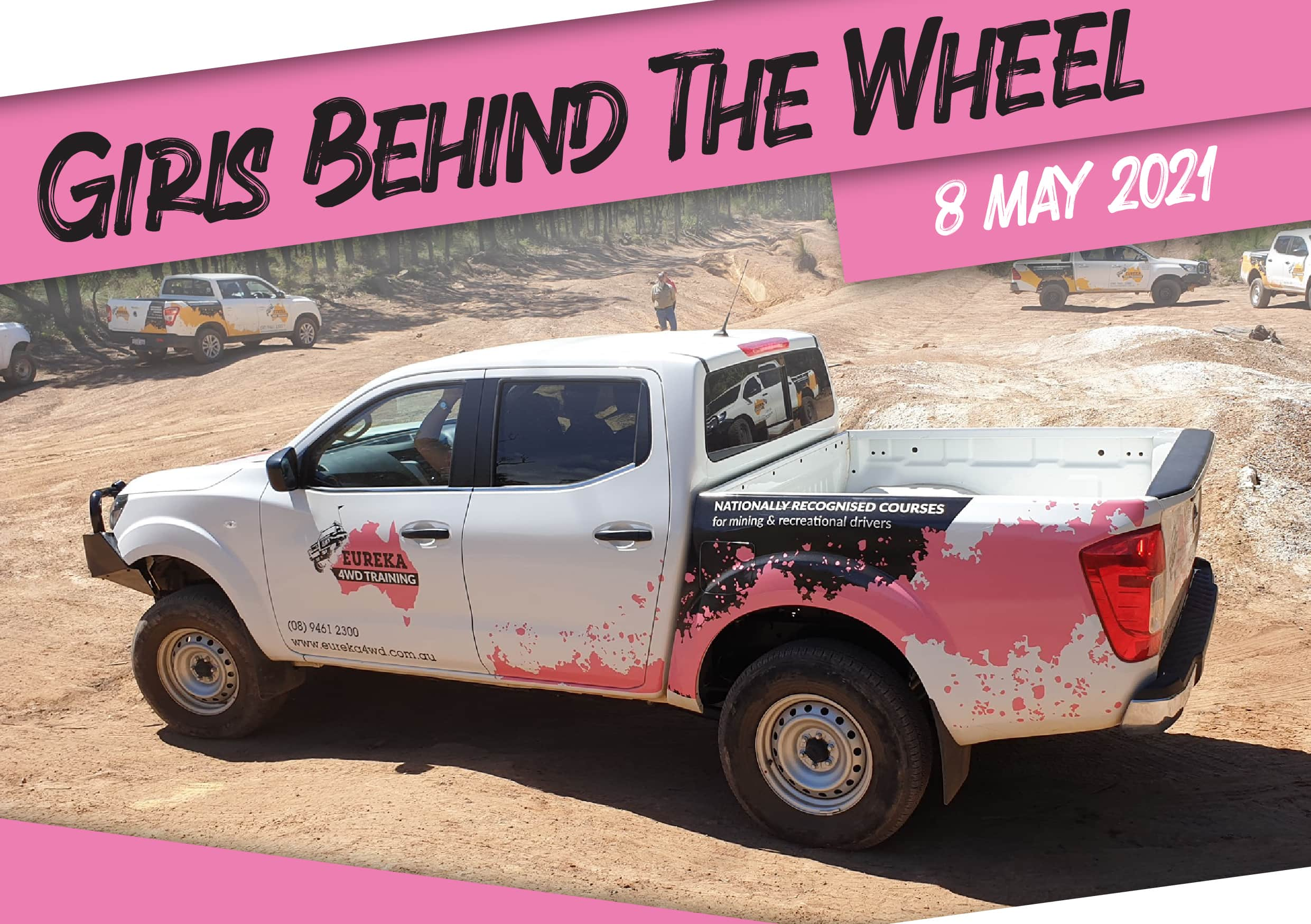 Girls Behind the Wheel – 4WD Course
