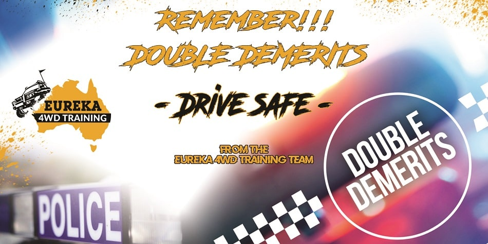 """Notification banner about the 2020 double double demerits update that represents """"double demerit dates"""" blog."""