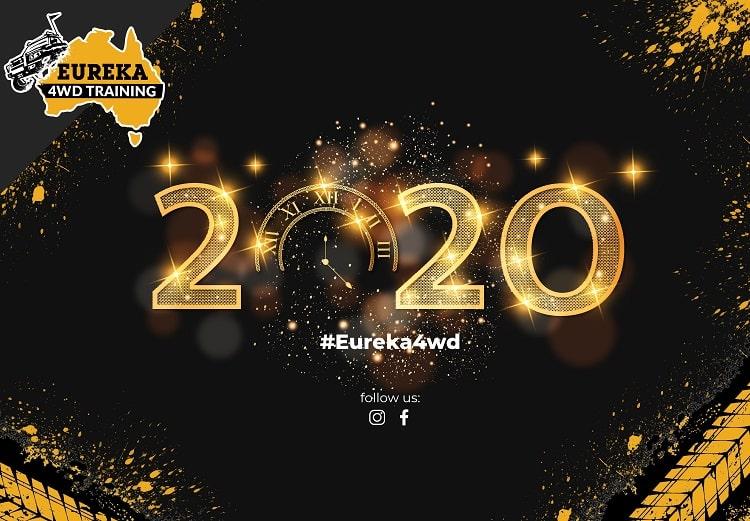 Eureka 4wd's season's greetings banner for January 2020.
